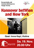 Hannover betWien and New York